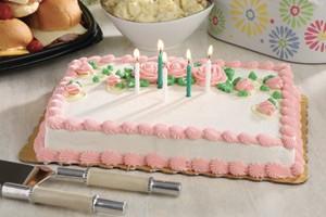 Photo of Pink Birthday Cake