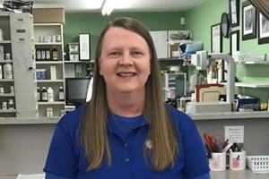 Photo of Lisa in Pharmacy